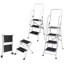 Compact Folding Step Ladder EN131 Certificated