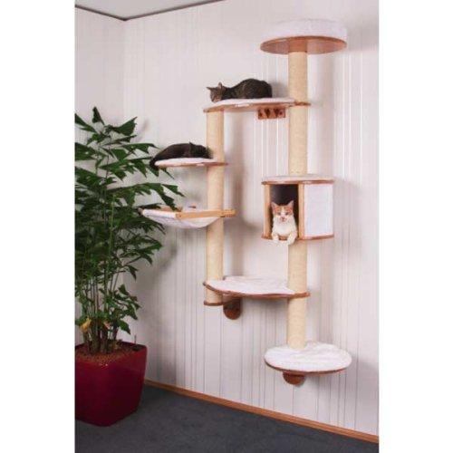 Dolomit Cat Tree X Large Sitting and Snoozing Areas Hammock Wall Mounted