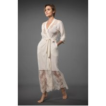 Kimonos Robe Bathrobe Women Lace Dressing Gown Pj
