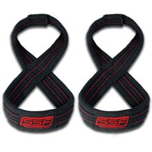 Serious Steel Fitness Figure 8 Straps | Deadlift Straps |Lifting Straps (70 Centimeters)