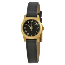 Marc Jacobs Dinky Ladies Watch Black Leather Strap Dial MBM1240