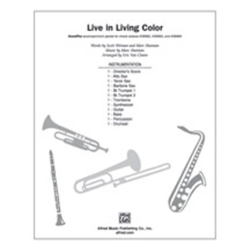Alfred 00-39986 LIVE IN LIVING COLOR-SPX