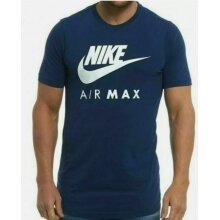 Nike Air Max T Shirt Mens Blue