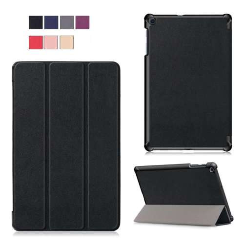 "Samsung Galaxy Tab A (2019) 10.1"" Tri-Fold Shockproof Leather Case"