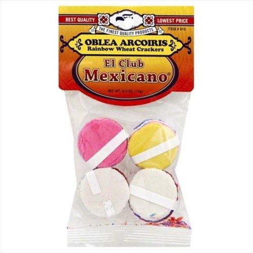 EL CLUB MEXICANO OBLEA ARCOIRIS-0.5 OZ -Pack of 12