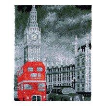 London Rug Latch Hooking Kit (58x85cm)