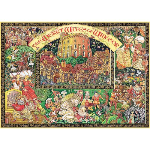 Ravensburger Windsor Wives 1000 Piece Jigsaw Puzzle