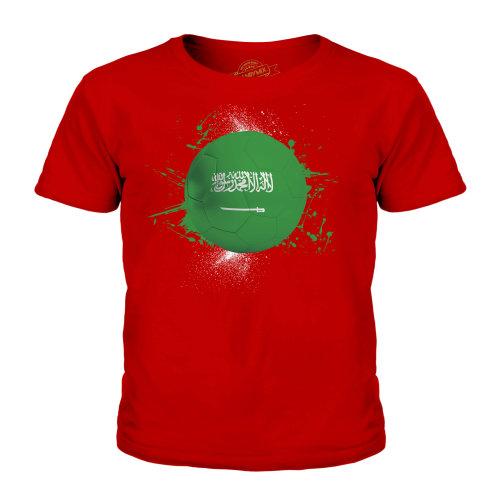 Candymix - Saudi Arabia Football - Unisex Kid's T-Shirt