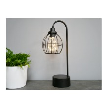 Battery Operated Table Lamp | Black
