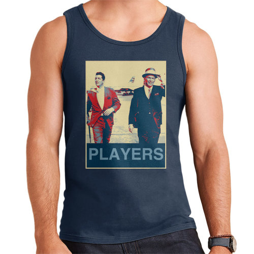 Dean Martin Frank Sinatra Heathrow Airport 1961 Poster Style Men's Vest