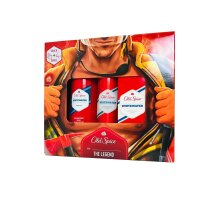 Old Spice Whitewater After Shave 150ml Body Shower Gel and Deodorant