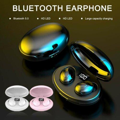 TWS Bluetooth 5.0 Headset Wireless Earphones Headphones Stereo IPX6 Sport Earbud
