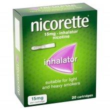 Nicorette Inhalator 15mg 20 Cartridges