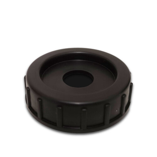 Black Cap for side entry of Aquaroll Container (with hole)