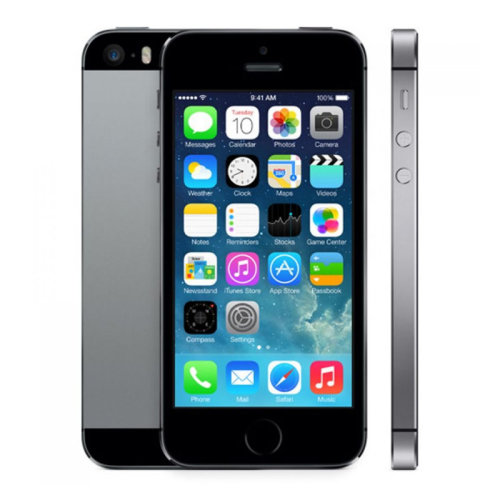 Apple iPhone 5   Black - Refurbished