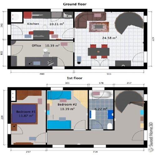 Home Planner and Design 3D VR Planner software