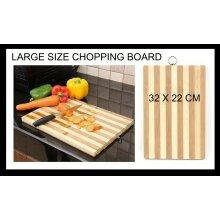 Natural LARGE Quality BAMBOO CHOPPING BOARD Kitchen Dicing Slicing
