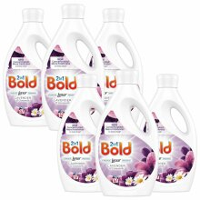 Bold 2-in-1 Lavender & Camomile Washing Liquid 1.995L - 57 Washes - 6 Pack