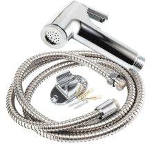 Chrome Bidet Spray Nozzle | Shower Head & Hose Set