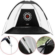 2M Golf Practice Cage Training Cage Driving Hit Net Foldable Oxford Cloth Polyester