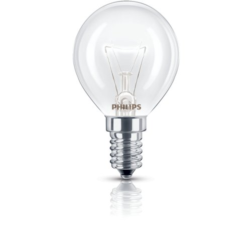 Philips 40W 240V E14 SES P45 Oven GLS Incandescent Appliance Bulb