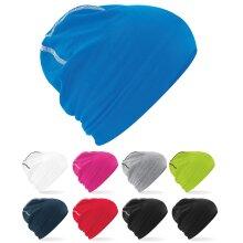 Beechfield Unisex Hemsedal Cotton Double Layer Knit Summer Running Beanie Hat