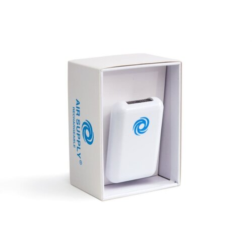 (As Seen on Image) Air Supply Rechargeable AS-300R Personal Ionic Air Purifier