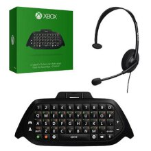 Microsoft Xbox One Chatpad with Headset - Used