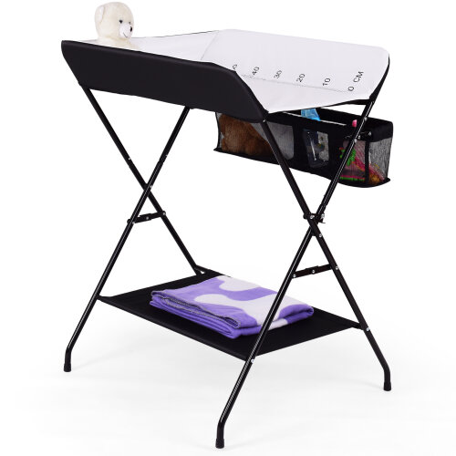Folding Infant Changing Station Baby Nursery Table