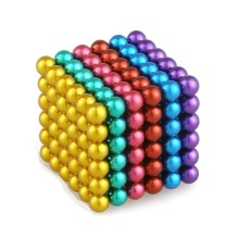 216pc Magnetic Coloured Balls