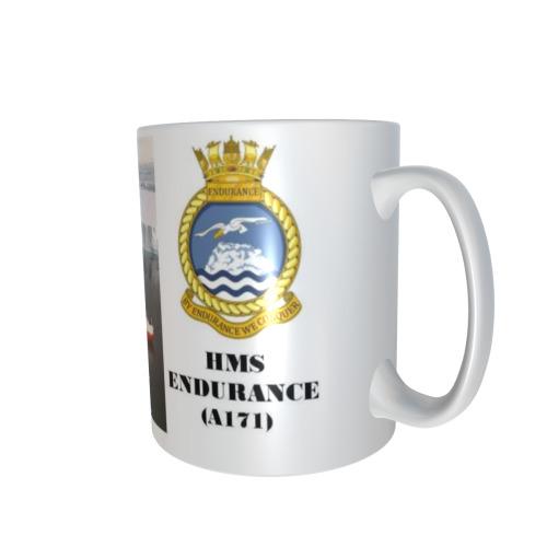 HMS ENDURANCE A171 PERSONALISED CERAMIC COFFEE MUG