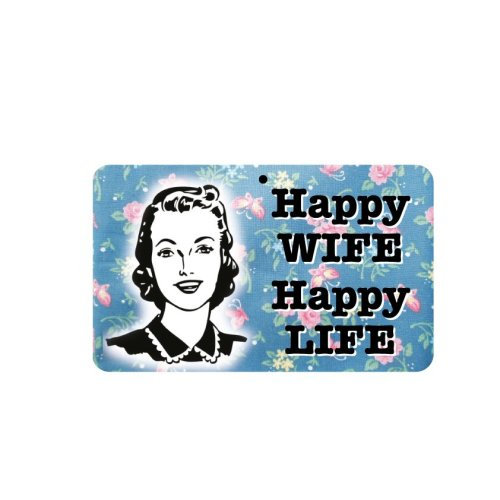 Fun Sign - Happy Wife Happy Life