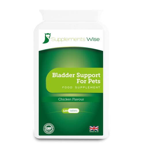Bladder Support For Dogs - 120 Tablets - UTI & Urine Infection Remedy