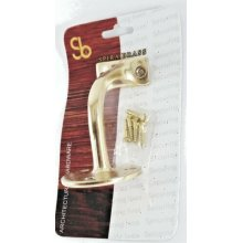 Solid Brass Handrail Bannister Bracket Balustrade Stairs Wall Support Pack