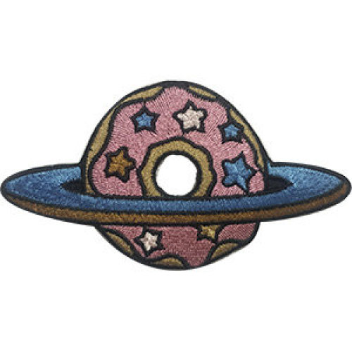Patch - Space - Spaced Donut Icon-On p-dsx-4789
