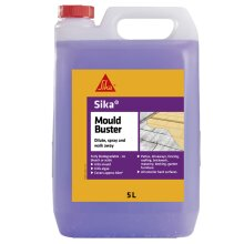 Sika Mould Buster Algae Mould Green Growth Remover Concentrate 5Ltrs