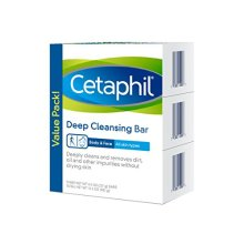 Cetaphil Deep Cleansing Face &amp Body Bar for All Skin Types