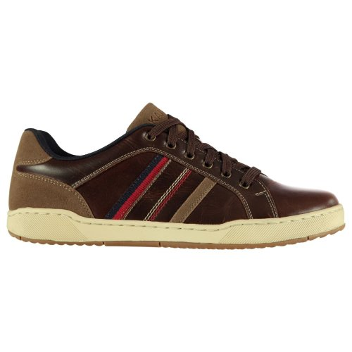Kangol Canary Mens Trainers Shoes Brown Casual Footwear Sneakers