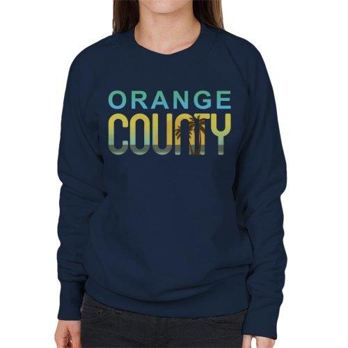Orange County Sunset Silhouette Women's Sweatshirt