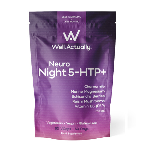 Neuro Night 5-HTP+  (+Marine Magnesium + B6 + Hops + Chamomile + more)