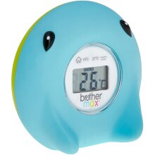 Brother Max Ray Digital Bath and Room Thermometer