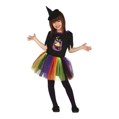 Baby Girl Halloween Cauldron Cutie Witch Fancy Dress Costume