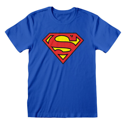 Superman Unisex Adult Logo T-Shirt