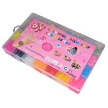 4200 Multicolour Rubber Loom Bands Bracelet Kit