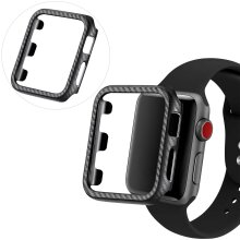 Protective Carbon Case For Apple Watch - (Black)