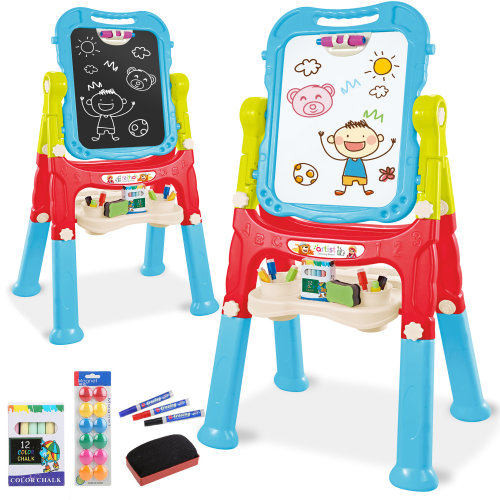 (Blue, red & green) The Magic Toy Shop Magnetic Easel
