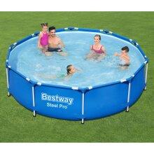 Bestway Steel Pro Swimming Pool Outdoor Garden Backyard Summer Frame Pool