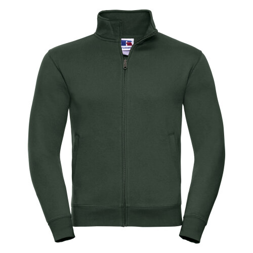 Russell Mens Premium Authentic Zip Up Workwear Work Sweatshirt Jacket Top