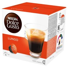 Nescafe Dolce Gusto Lungo (Pack of 4)