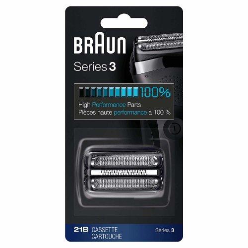 Braun 21B Shaver Replacement Part, Series 3 - Black